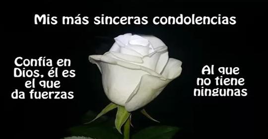 Tarjetas de condolencias a una amiga