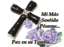 Descansa en paz madre